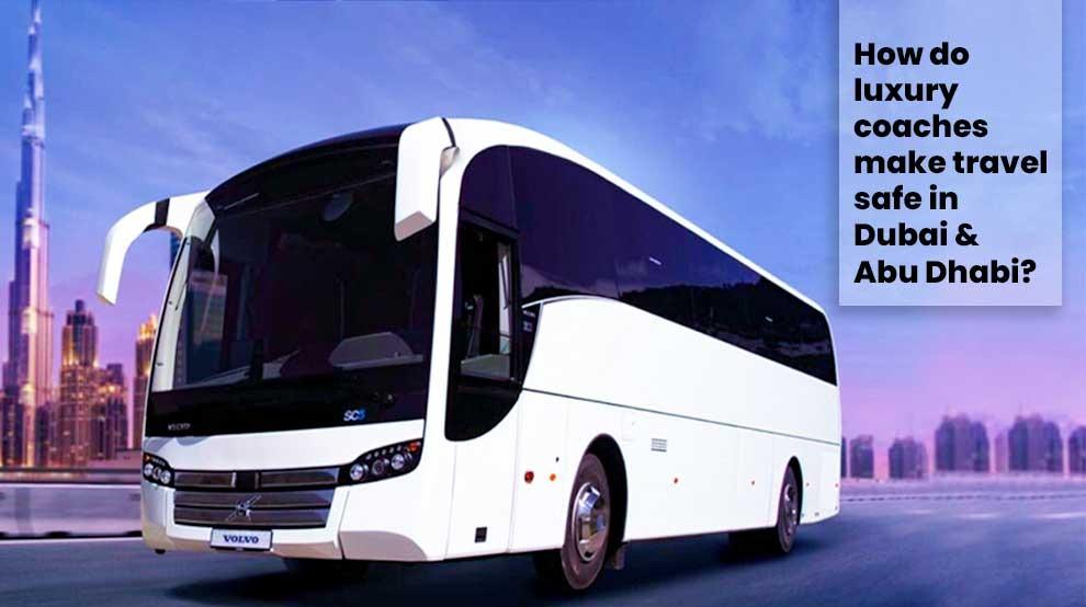 Luxury coaches in Dubai
